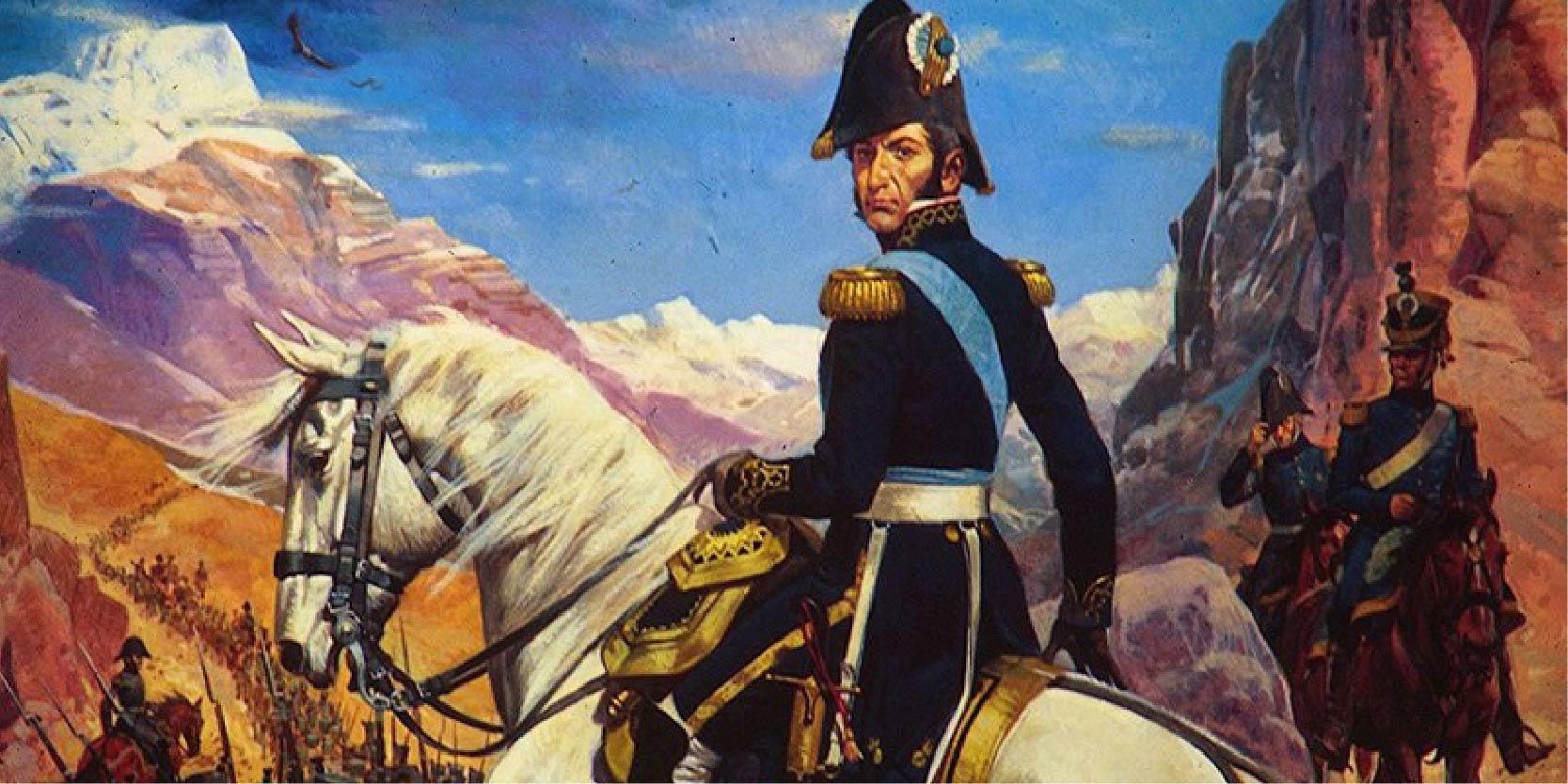 """17 de Agosto : """"Recordamos al General San Martin"""""""